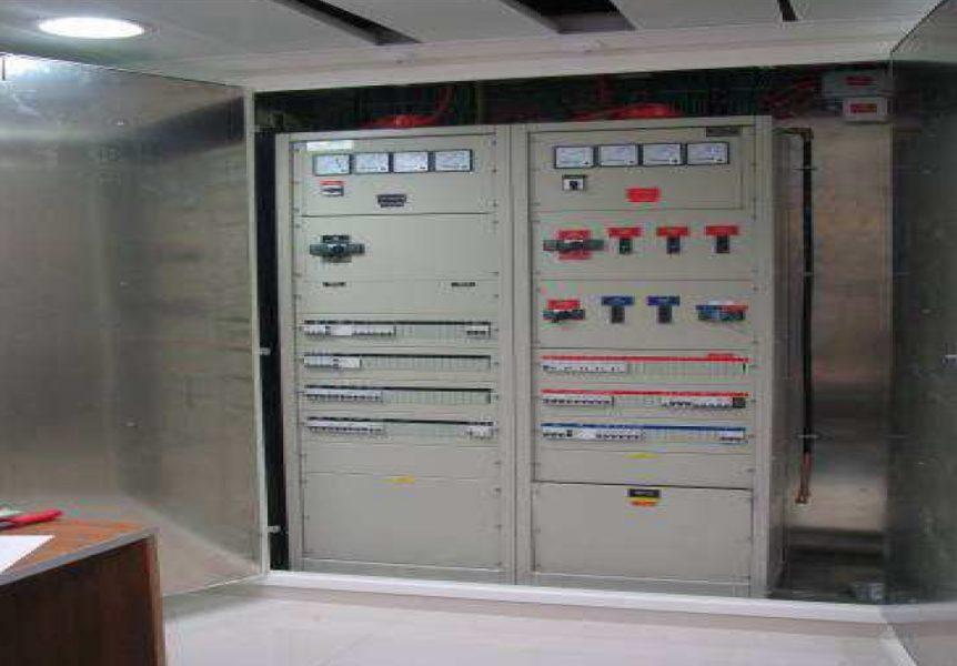 מיגון קרינה בארון חשמל
